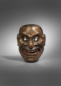 Noh mask of Akujō