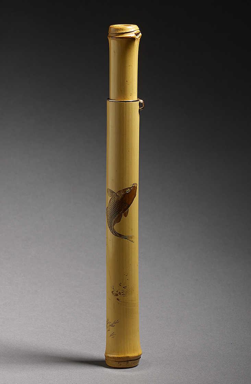 Античный бамбук-карп-пипеказа-