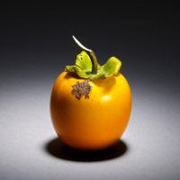 Antique Japanese Okimono - Ivory persimmon-mr2047-v1-