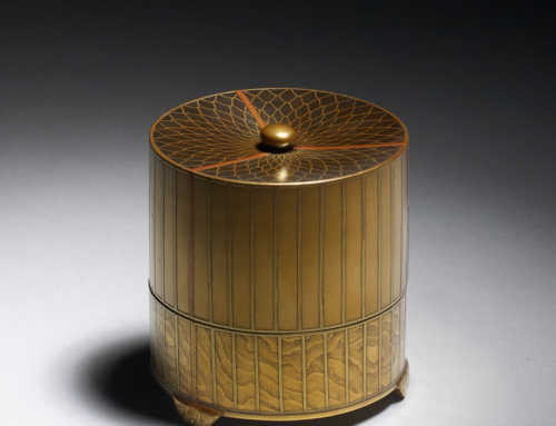 Lacquer Birdcage Box