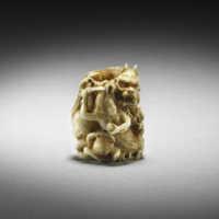 Kensai ivory ama ojime MR2448