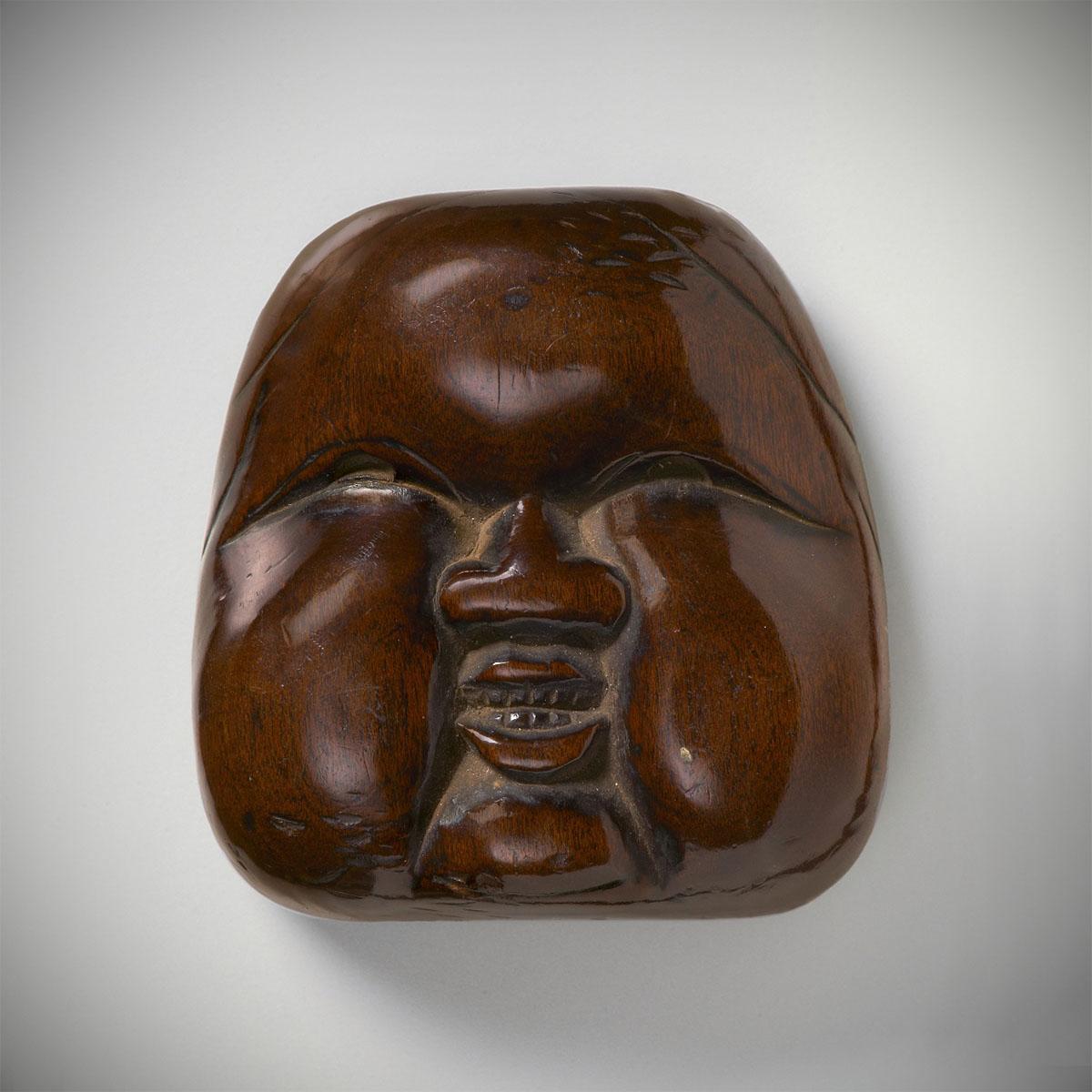largewood-mask-netsuke-oto-MR2357-2