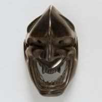 Wood Mask Netsuke-Ja Deme family-mr2336
