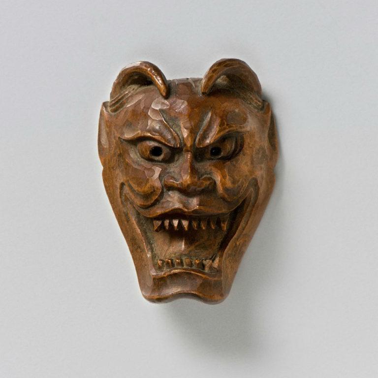 Wood Netsuke of a Tiger | Max Rutherston Ltd
