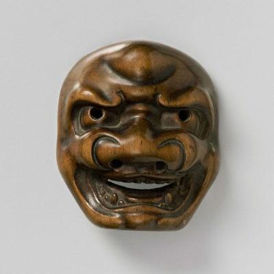 Mask Netsuke-Shishiguchi-mr2347