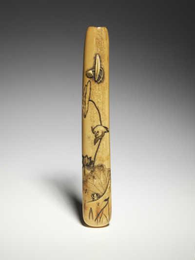 Ishikawa Rensai, Walrus Ivory Otoshizutsu