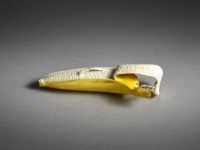 Takagi Hoshin, an ivory okimono of a small banana