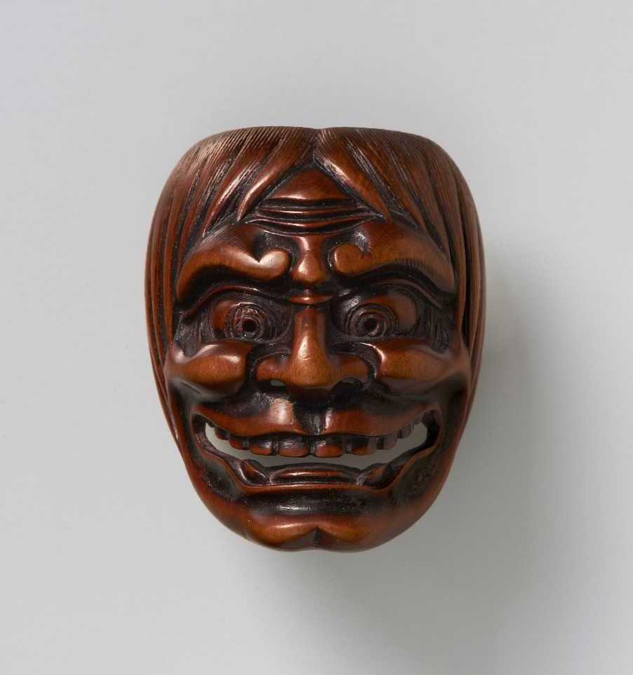A demon, circle of Ryuzan, late 19th Century