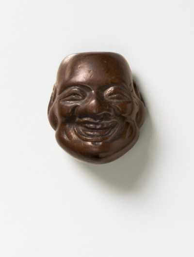 Deme Joman, Wood mask netsuke of Daikoku