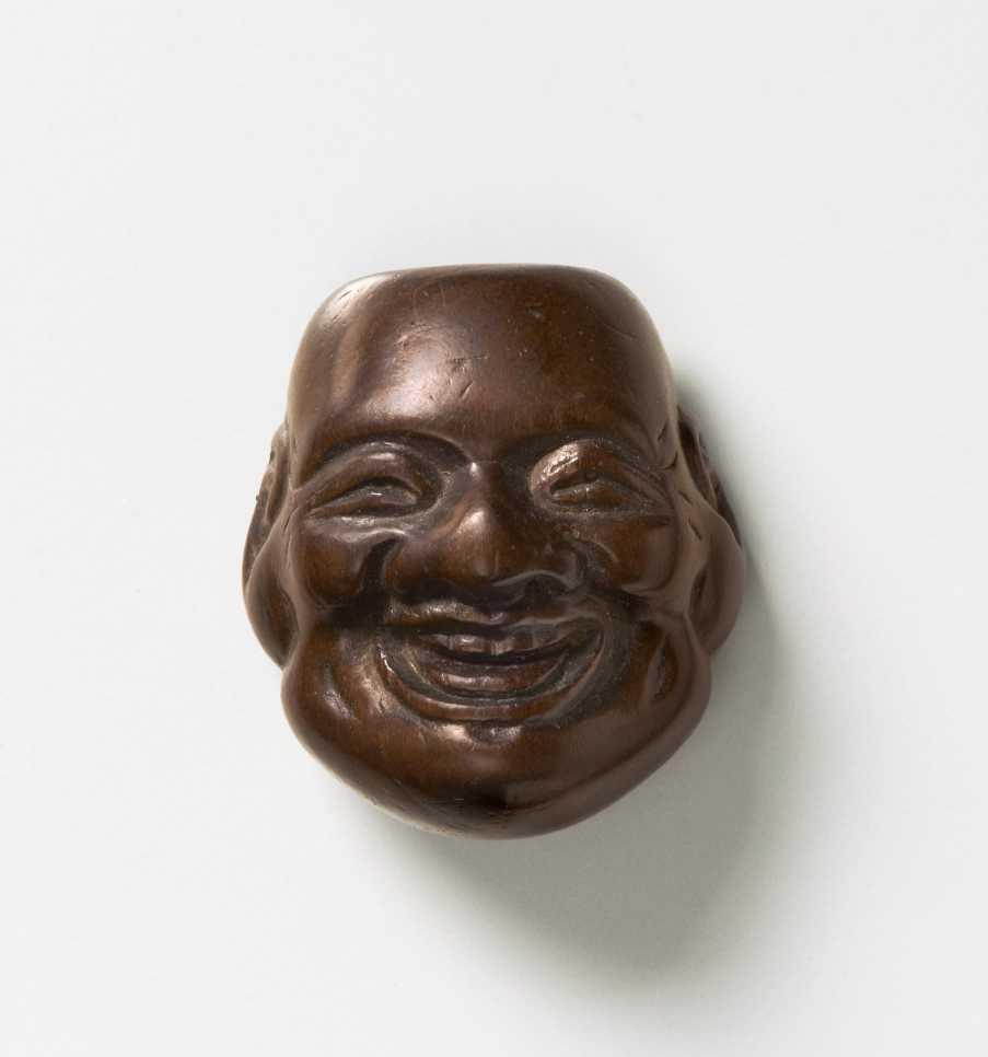 Deme Joman, Wood mask netsuke of Daikoku