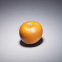 Ivory okimono of an orange