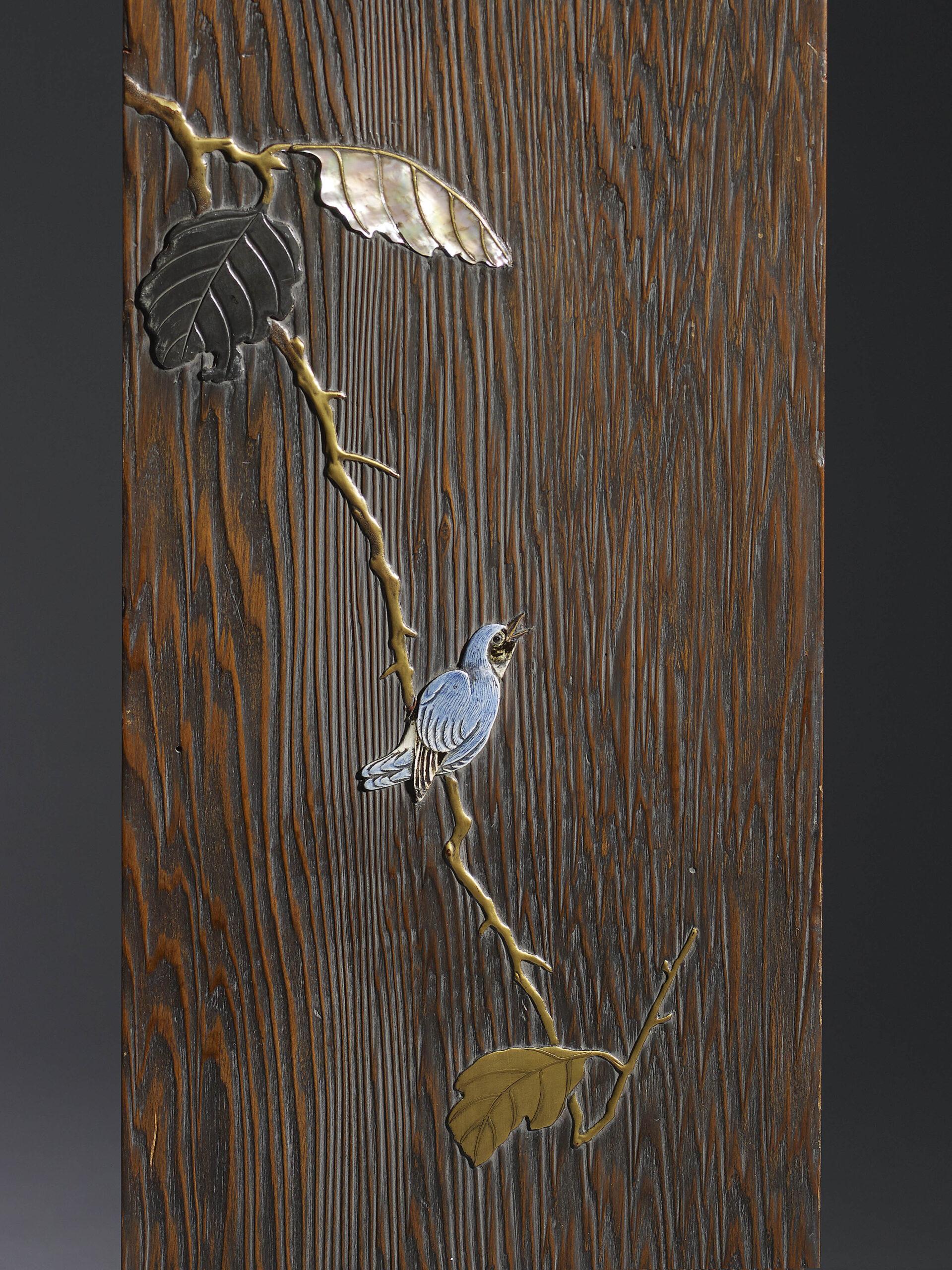 Hanzan owl panel detail 2