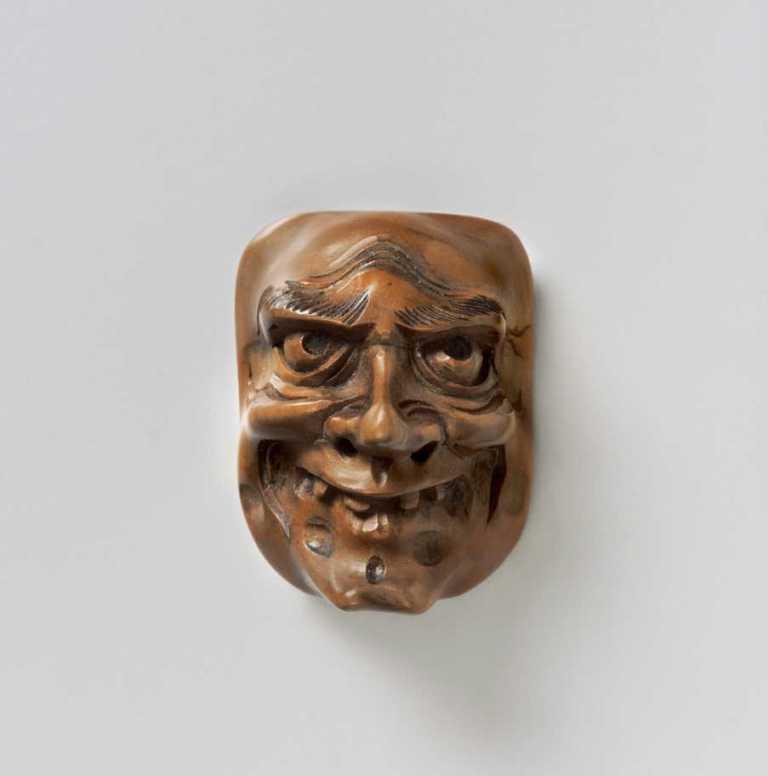Ivory Netsuke of Three Shojo | Max Rutherston Ltd