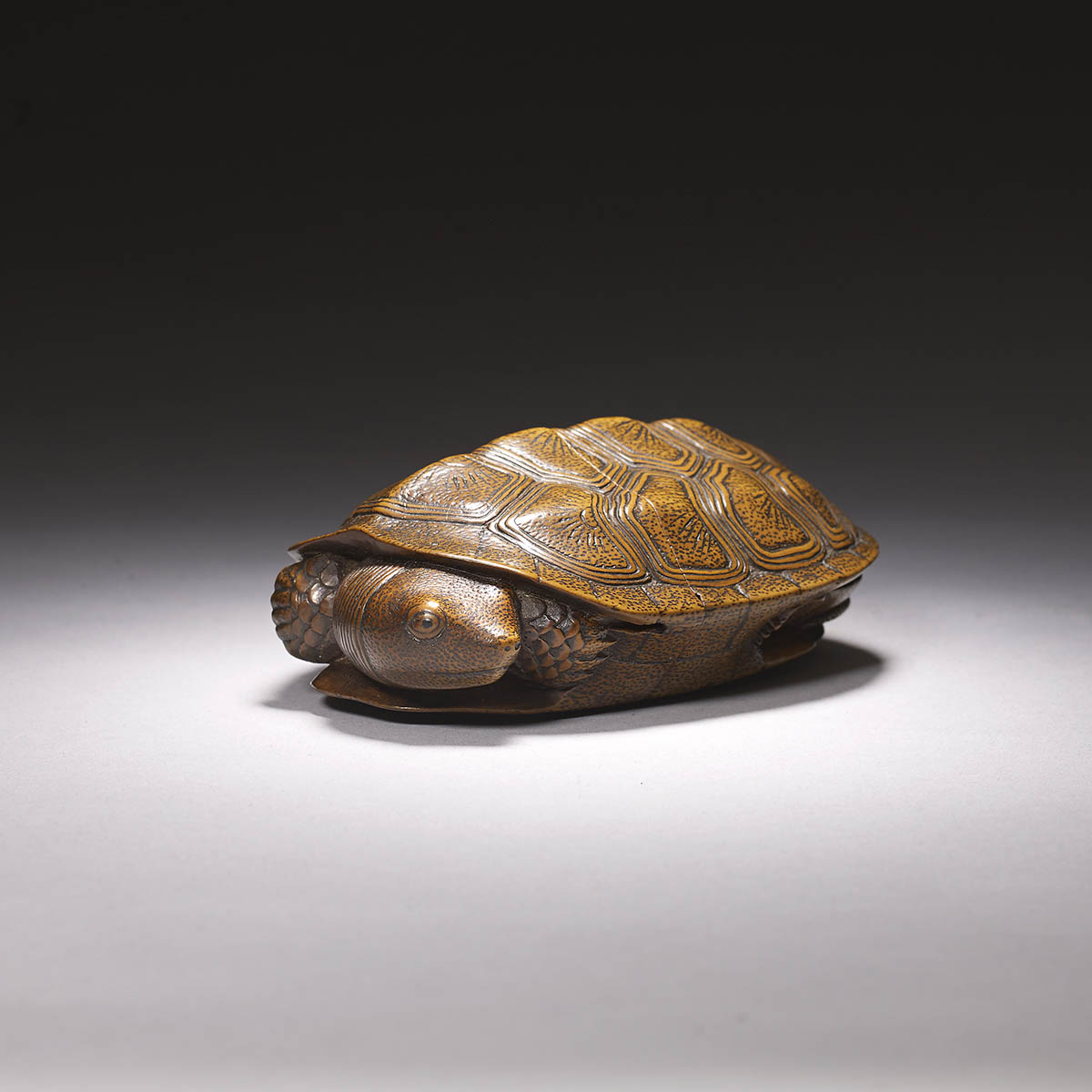 Yoshihisa wood tonkotsu in the form of a turtle