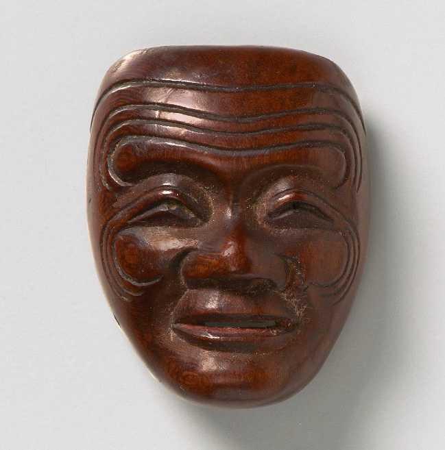A male mask by Deme Joman