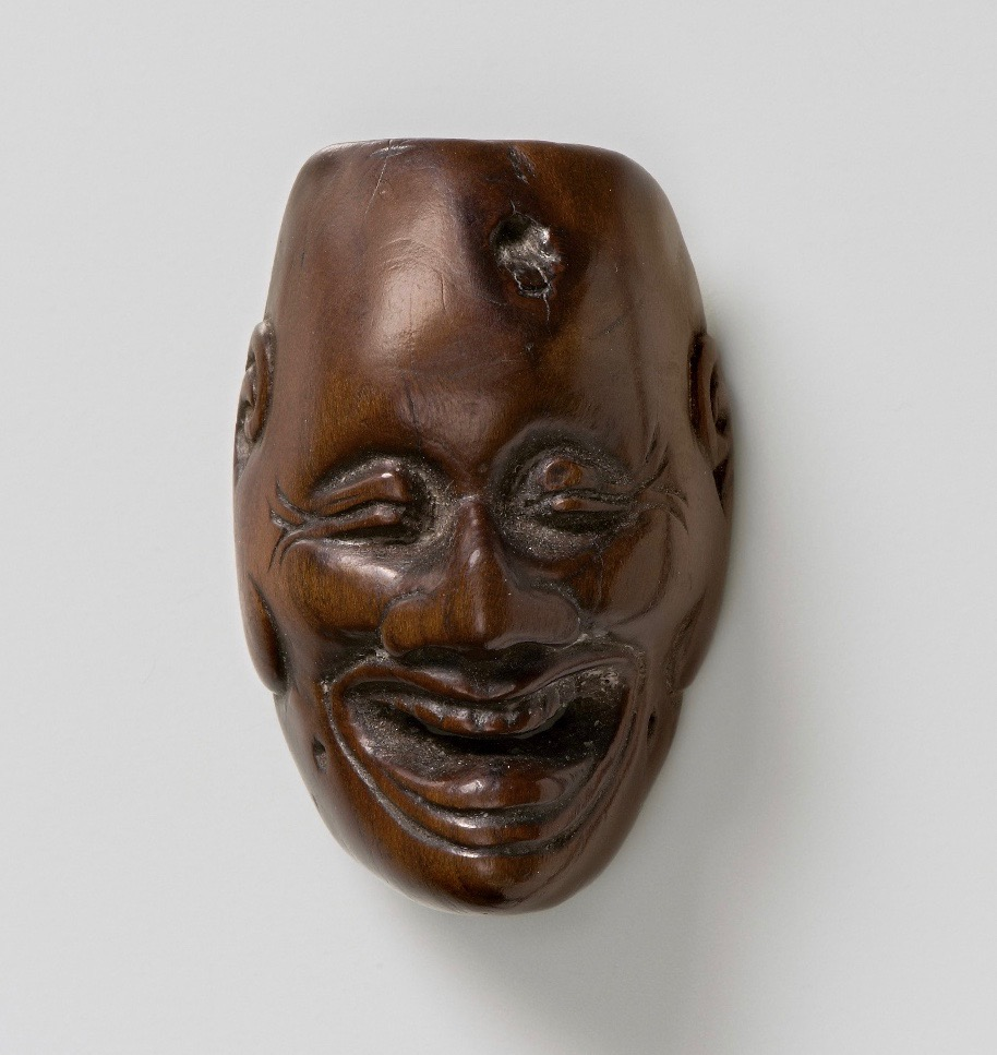 Mask of a Laughing Demon, by Deme Eiman