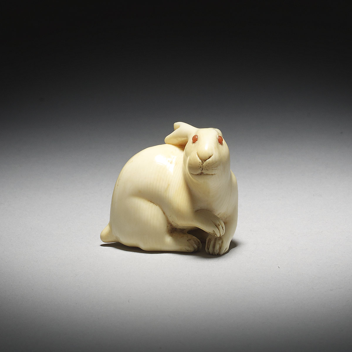Ivory Netsuke of a Hare _MR2924_v1