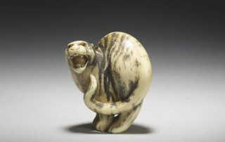 Ivory Netsuke of a Standing Tiger by Natsushita Otoman_MR2902_v1