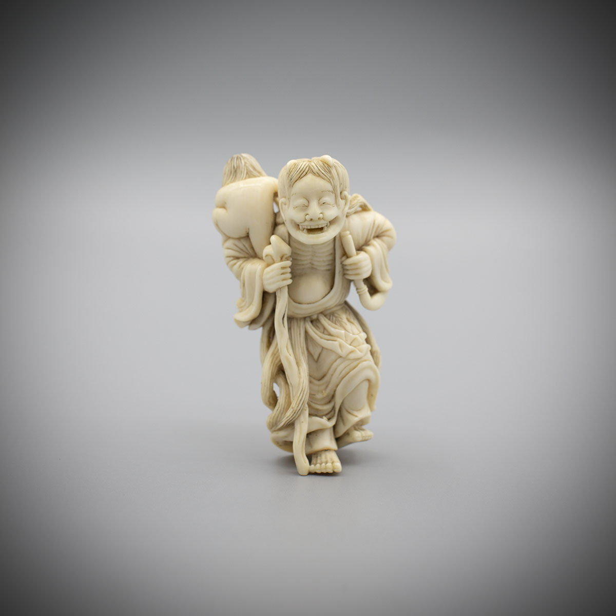 Ivory Netsuke of Yamanba, after Yamanba, MR3200_v1