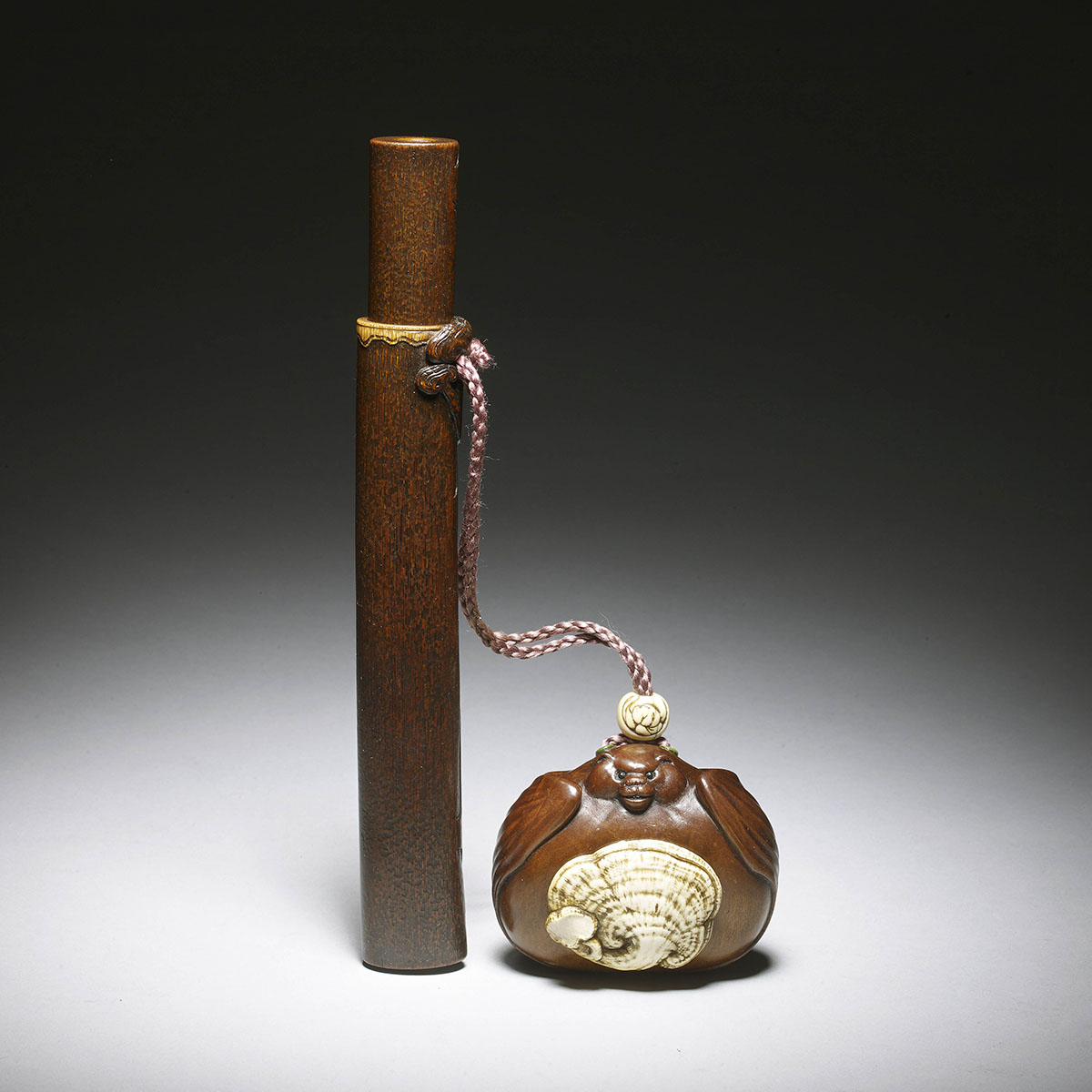 Asahi Meido, Fruitwood tonkotsu in the form of a bat MR1994_v1-2