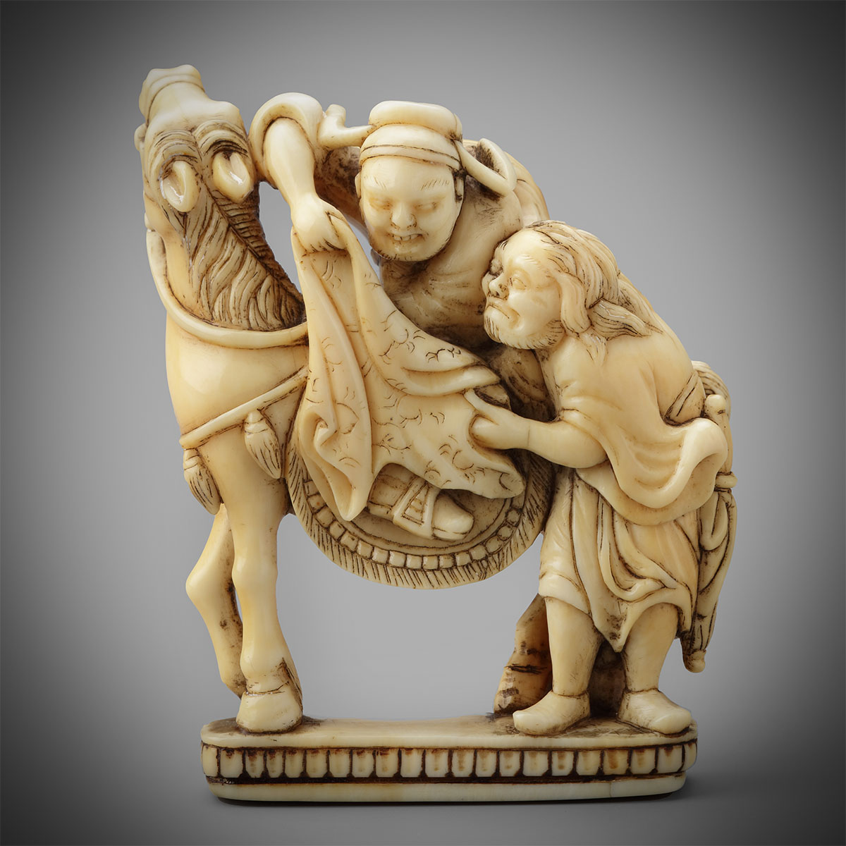 Ivory Netsuke of Cho Bujutsu and Yojo, MR3268_v1