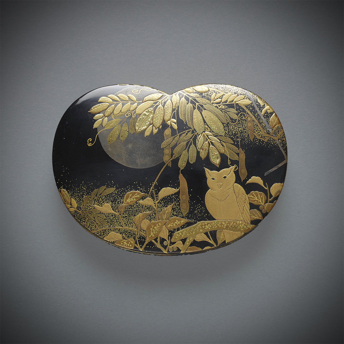 Lacquer Box with Owl, MR3336_v1
