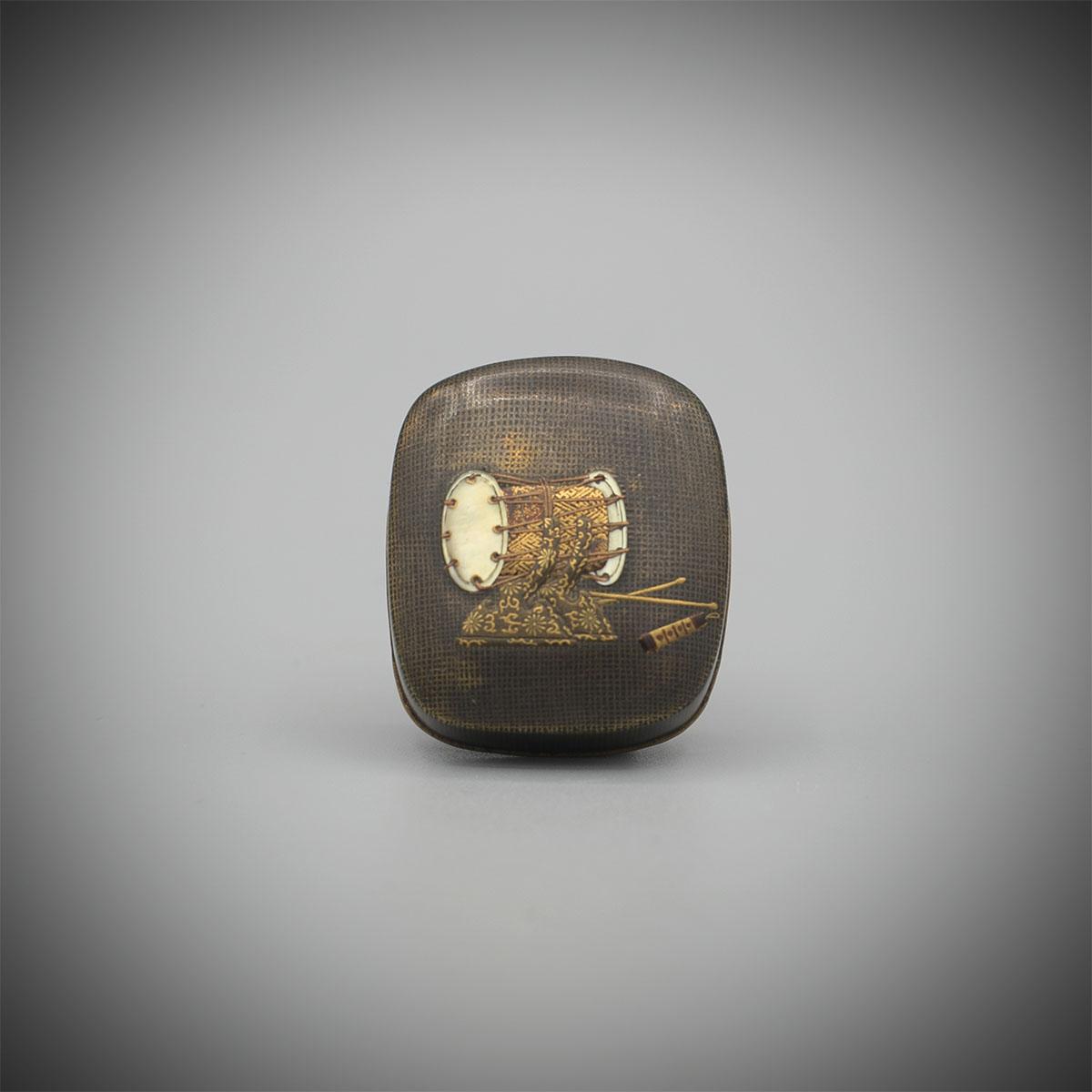 Lacquered Hako-Netsuke by Koma Kansai, MR3356_v1
