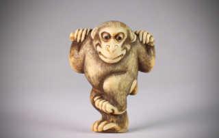 Netsuke of Monkey, MR3131_v1