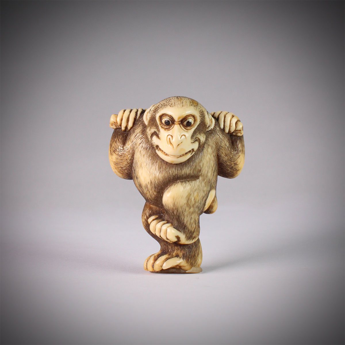 Netsuke of Monkey, MR3131_v1