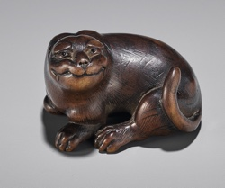 Tiger netsuke - Zacke Auction