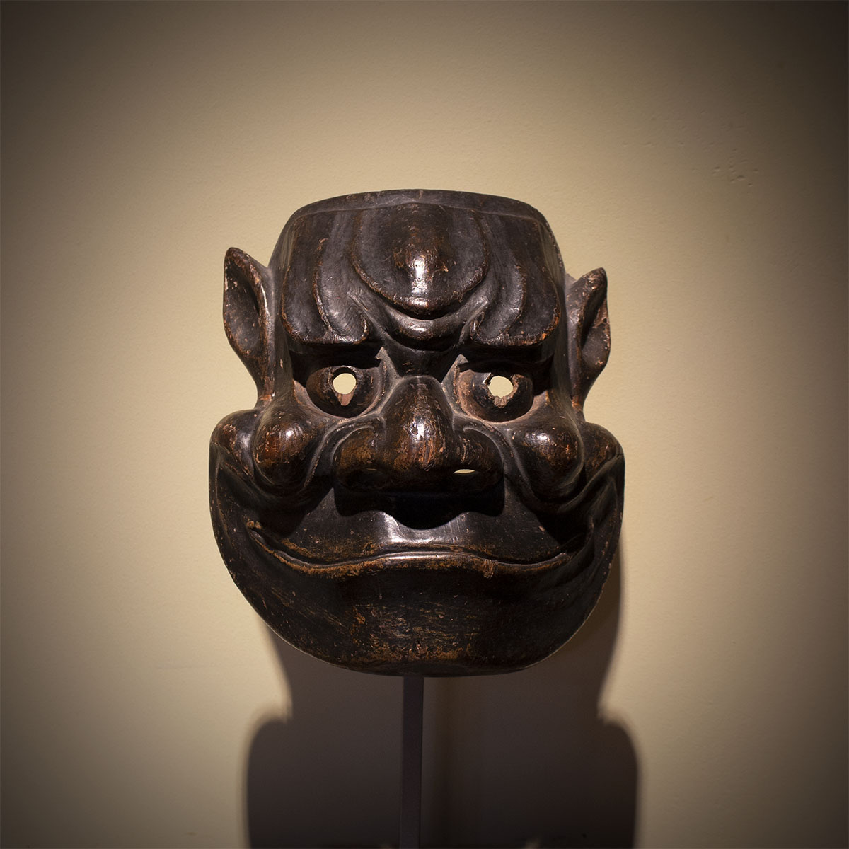Cypress wood tsuina mask of Beshimi MR3306_v1