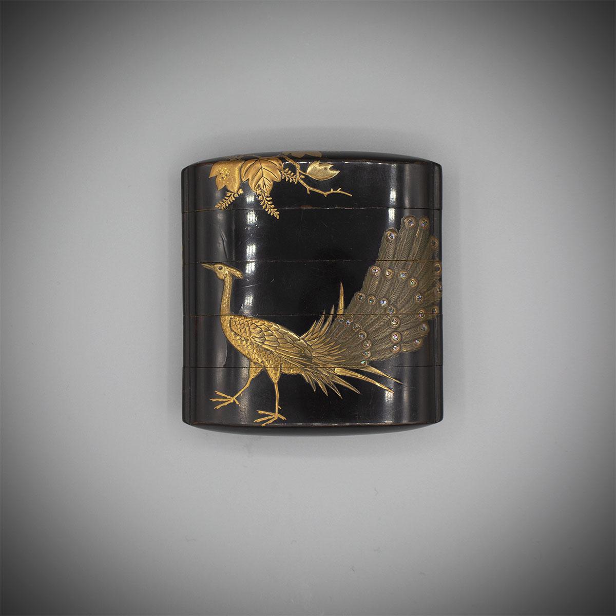 MR3445_Ho-o bird and Kiri inro