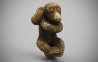Ivory Ojime of a Monkey, MR3581_v.1
