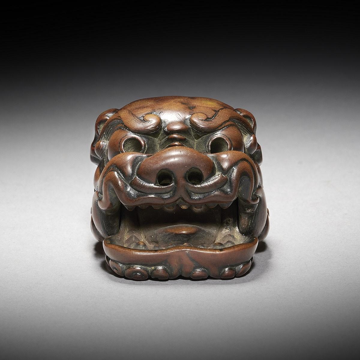 Netsuke Mask - Japanese works of art