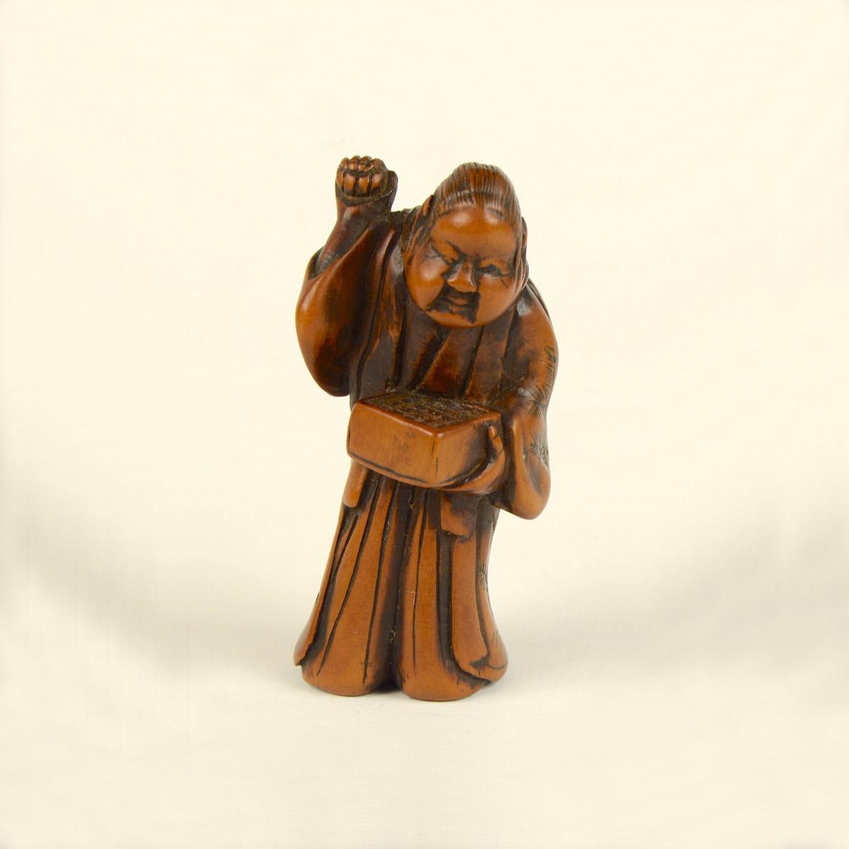 Holz Okame wirft Bohnen main_v.2