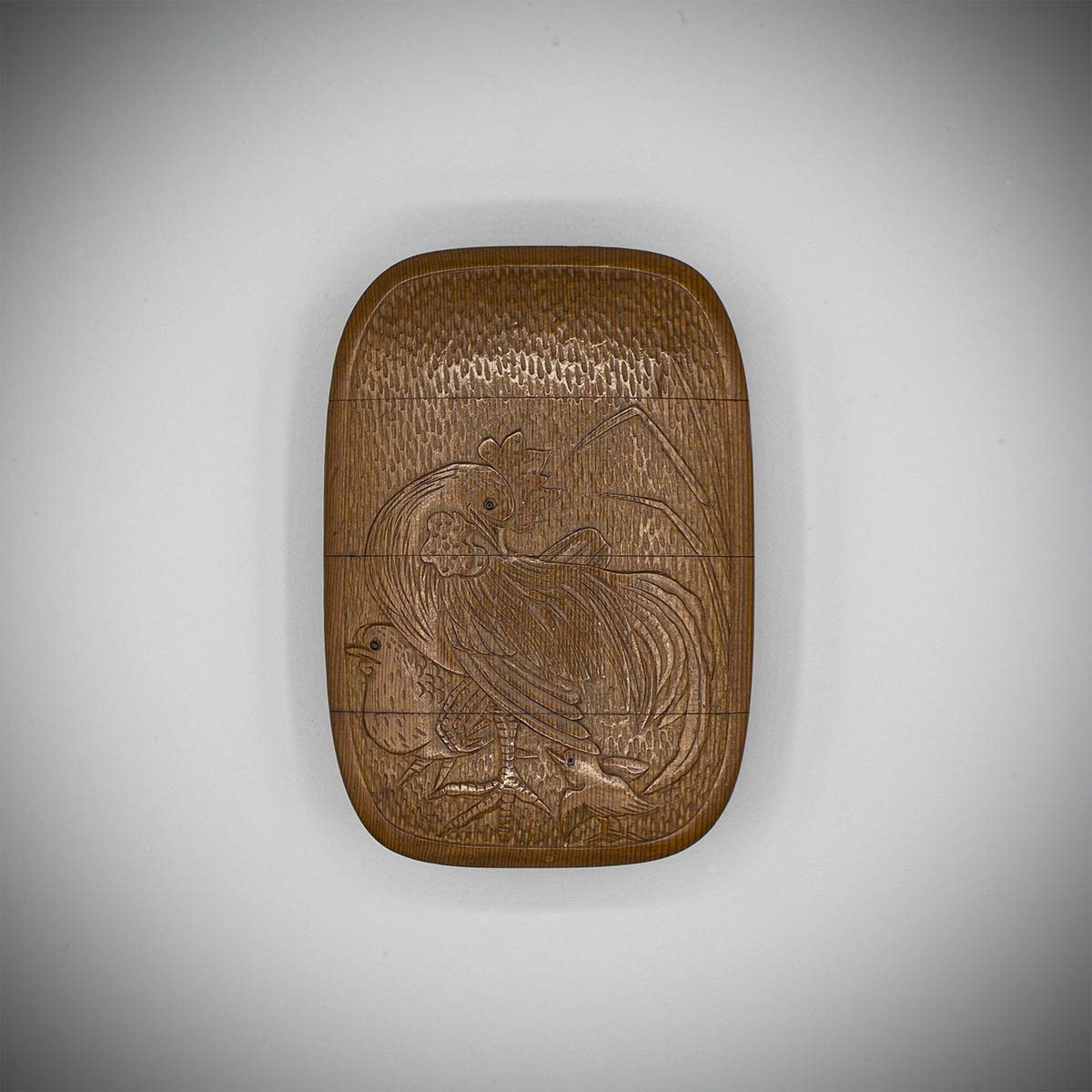 MR3856_v.1 A wood three case inro by Sukeyuki recto