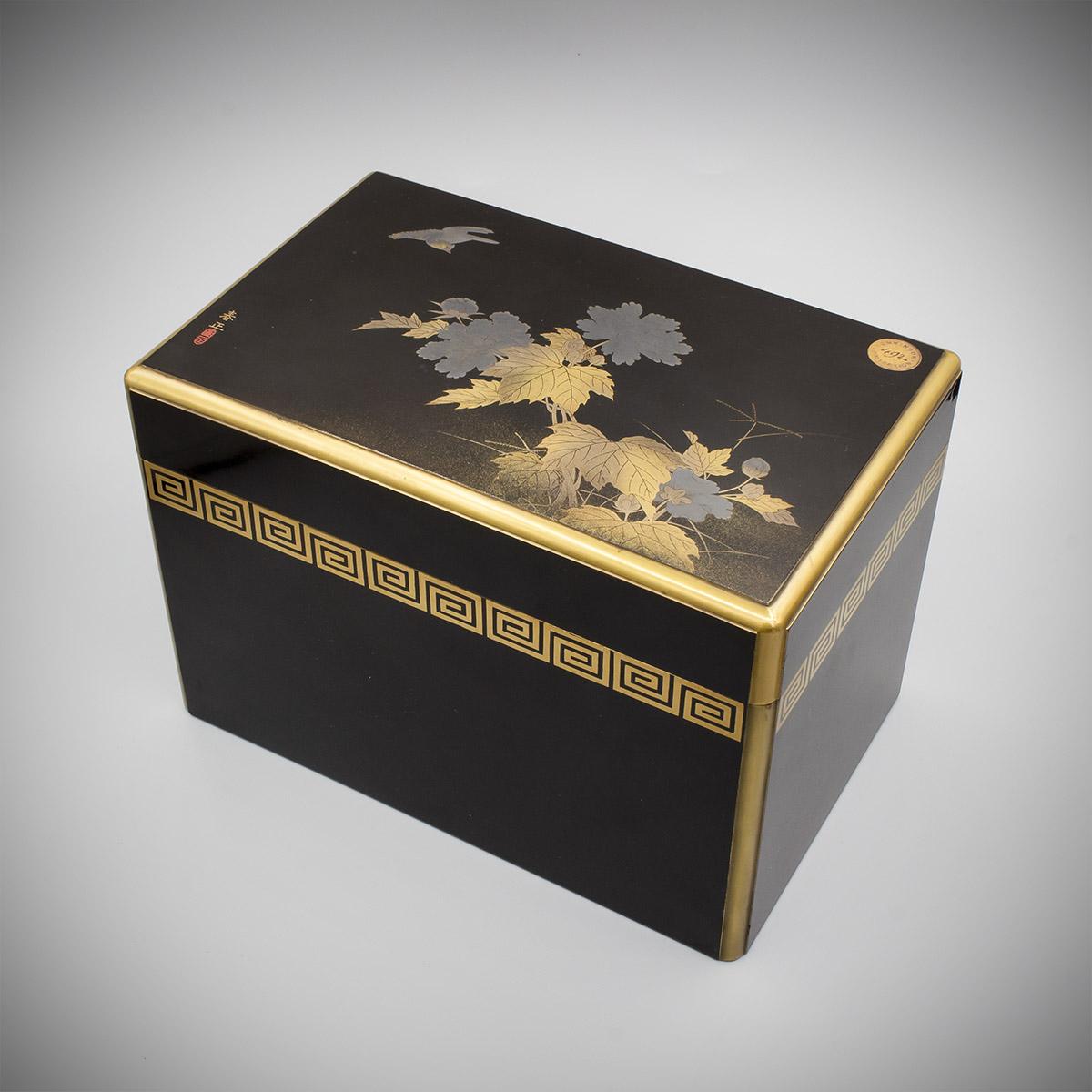 MR3868_v.1 A Japanese lacquer tebako by Shunsho
